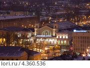 Купить «Санкт-Петербург. Вид на Балтийский вокзал», эксклюзивное фото № 4360536, снято 23 февраля 2013 г. (c) Литвяк Игорь / Фотобанк Лори