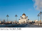 Храм Христа Спасителя в Москве, Россия (2012 год). Стоковое фото, фотограф юлия заблоцкая / Фотобанк Лори