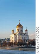 Храм Христа Спасителя в Москве (2012 год). Стоковое фото, фотограф юлия заблоцкая / Фотобанк Лори