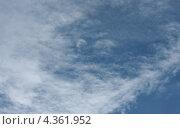 Облачное небо. Стоковое фото, фотограф Юлия Гетманская / Фотобанк Лори