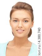 Купить «Юная девушка с красиво уложенными волосами», фото № 4380740, снято 28 августа 2011 г. (c) Syda Productions / Фотобанк Лори