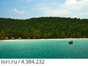 Купить «Остров Кох Ронг Самлоем, Камбоджа», фото № 4384232, снято 27 февраля 2013 г. (c) Юлия Бабкина / Фотобанк Лори
