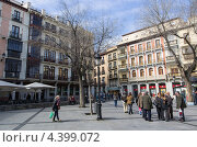Купить «Площадь Сокодовер в Толедо», фото № 4399072, снято 3 марта 2013 г. (c) Аркадий Захаров / Фотобанк Лори