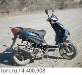 Грязный скутер (2013 год). Редакционное фото, фотограф Тимофей Кривцов / Фотобанк Лори