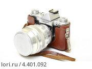 Купить «Старая пленочная фотокамера», эксклюзивное фото № 4401092, снято 14 марта 2013 г. (c) Яна Королёва / Фотобанк Лори