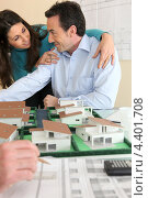 Купить «Офис агента по недвижимости», фото № 4401708, снято 21 января 2010 г. (c) Phovoir Images / Фотобанк Лори