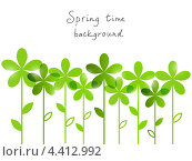 Купить «Весенний фон с местом для текста», иллюстрация № 4412992 (c) Евгения Малахова / Фотобанк Лори