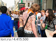 Купить «Участники парада мыльных пузырей Dreamflash», эксклюзивное фото № 4415500, снято 22 апреля 2012 г. (c) Алёшина Оксана / Фотобанк Лори