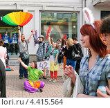 """Купить «Участники парада мыльных пузырей """"Dreamflash""""», эксклюзивное фото № 4415564, снято 22 апреля 2012 г. (c) Алёшина Оксана / Фотобанк Лори"""