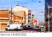 Купить «Вид на Sant Adria-de-Besos. Испания», фото № 4416032, снято 27 февраля 2013 г. (c) Яков Филимонов / Фотобанк Лори