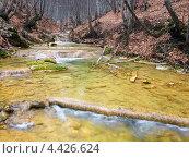 Река в каньоне. Стоковое фото, фотограф Евгений Валерьевич / Фотобанк Лори