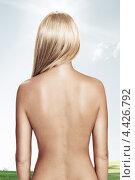 Купить «Женская спина», фото № 4426792, снято 11 февраля 2012 г. (c) Дмитрий Эрслер / Фотобанк Лори