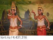 Камбоджийские танцовщицы (2013 год). Редакционное фото, фотограф Сергей Бойков / Фотобанк Лори