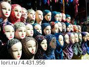 Головы манекена в хиджабе. Стоковое фото, фотограф Боря Гальперин / Фотобанк Лори
