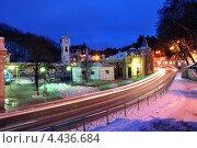 Кисловодск зимой. Стоковое фото, фотограф Синенко Юрий / Фотобанк Лори