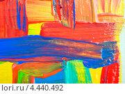Купить «Разноцветные мазки краски», фото № 4440492, снято 19 августа 2012 г. (c) Степанов Григорий / Фотобанк Лори