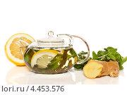 Имбирный чай. Стоковое фото, фотограф Peredniankina / Фотобанк Лори