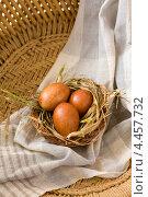 Купить «Пасха и крашенки», фото № 4457732, снято 30 марта 2013 г. (c) Eve Voevoda / Фотобанк Лори