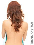 Купить «Привлекательная девушка с темными распущенными волосами», фото № 4461020, снято 11 сентября 2010 г. (c) Syda Productions / Фотобанк Лори