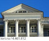 Купить «Летний дом графа Орлова, Нескучный сад, Москва», эксклюзивное фото № 4461812, снято 31 марта 2011 г. (c) lana1501 / Фотобанк Лори