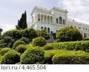 Купить «Ливадийский дворец, Крым», фото № 4465504, снято 23 мая 2012 г. (c) ИВА Афонская / Фотобанк Лори