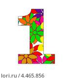Купить «Цифра один», иллюстрация № 4465856 (c) Мастепанов Павел / Фотобанк Лори