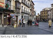 Купить «Площадь Сокодовер в Толедо», фото № 4473556, снято 3 марта 2013 г. (c) Аркадий Захаров / Фотобанк Лори