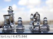 Купить «Шахматы на фоне неба», фото № 4475844, снято 5 апреля 2013 г. (c) Irina Opachevsky / Фотобанк Лори