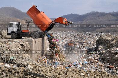 Полигон твёрдых бытовых отходов (свалка) в Сочи