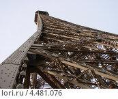 Сооружение Эйфелевой башни (2007 год). Стоковое фото, фотограф Паюсова Светлана / Фотобанк Лори