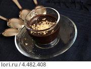 Горячий шоколад с орехами. Стоковое фото, фотограф Владимир Ворона / Фотобанк Лори