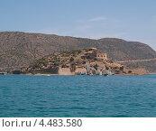 Купить «Крепость на острове Спиналонга», эксклюзивное фото № 4483580, снято 8 мая 2012 г. (c) Алина Голышева / Фотобанк Лори