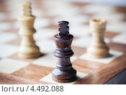 Деревянные шахматы. Стоковое фото, фотограф Георгий Курятов / Фотобанк Лори