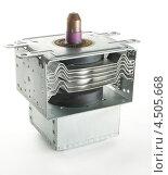Купить «Магнетрон - деталь микроволновки», эксклюзивное фото № 4505668, снято 9 апреля 2013 г. (c) Dmitry29 / Фотобанк Лори