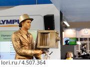 Купить «Фотофорум 2013, Москва», эксклюзивное фото № 4507364, снято 11 апреля 2013 г. (c) Дмитрий Неумоин / Фотобанк Лори