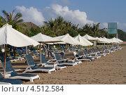 Пляж напротив отеля Grand Bali Mirage, остров Бали (2012 год). Редакционное фото, фотограф Игнатьев Михаил / Фотобанк Лори