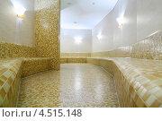 Турецкая баня с желтой плиткой. Стоковое фото, фотограф Losevsky Pavel / Фотобанк Лори