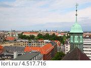 Купить «Вид сверху на Копенгаген, Дания», фото № 4517716, снято 30 июля 2011 г. (c) Losevsky Pavel / Фотобанк Лори