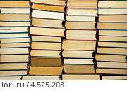 Стопки книг. Стоковое фото, фотограф Антон Куделин / Фотобанк Лори