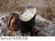 Походная уха. Стоковое фото, фотограф Сапронов Игорь / Фотобанк Лори