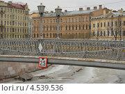 Купить «Санкт-Петербург. Канал. Львиный мост», эксклюзивное фото № 4539536, снято 14 апреля 2013 г. (c) Александр Алексеев / Фотобанк Лори