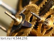 Купить «Часовой механизм. Шестеренки», фото № 4544216, снято 6 июля 2008 г. (c) Иван Михайлов / Фотобанк Лори