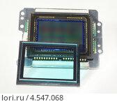 Матрица цифрового зеркального фотоаппарата со снятым оптическим фильтром, эксклюзивное фото № 4547068, снято 21 августа 2012 г. (c) Dmitry29 / Фотобанк Лори