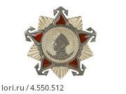 Орден Нахимова II степени. Стоковое фото, фотограф Nikolay Sukhorukov / Фотобанк Лори