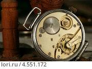 Купить «Часовой механизм», фото № 4551172, снято 9 января 2008 г. (c) Иван Михайлов / Фотобанк Лори
