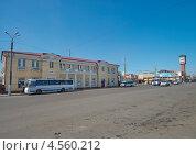 Купить «Читинский вокзал», эксклюзивное фото № 4560212, снято 19 апреля 2013 г. (c) Геннадий Соловьев / Фотобанк Лори