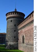 Купить «Италия, Милан, замок Сфорца (Сфорцеско)», фото № 4563348, снято 15 марта 2013 г. (c) Овчинникова Ирина / Фотобанк Лори