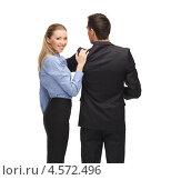 Купить «Молодые сотрудники в офисной одежде», фото № 4572496, снято 17 ноября 2012 г. (c) Syda Productions / Фотобанк Лори