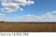 Облака весной. Стоковое фото, фотограф Наталья Белякова / Фотобанк Лори