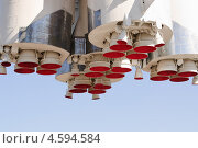 Макет ракеты-носителя «Восток» на ВВЦ (ВДНХ) (2013 год). Редакционное фото, фотограф Алёшина Оксана / Фотобанк Лори